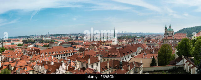 Historic centre of Prague, UNESCO World Heritage Site, Prague, Czech Republic - Stock Image