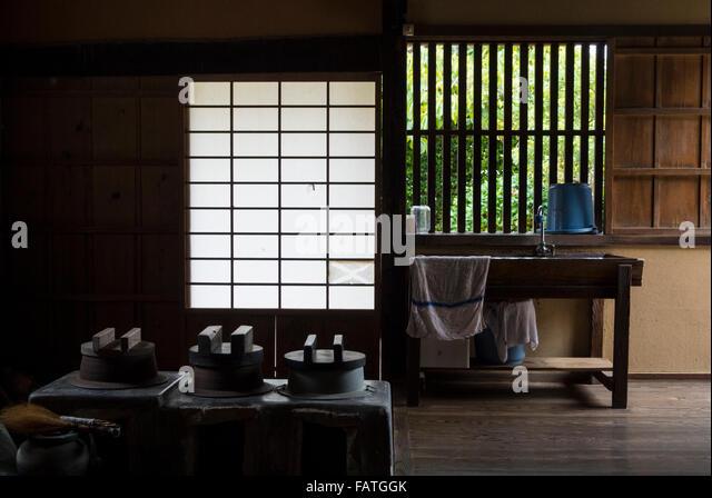 Yamaguchi stock photos yamaguchi stock images alamy for Traditional japanese kitchen