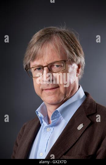 Paul Cartledge, the British ancient historian and academic, at the Edinburgh International Book Festival. Edinburgh, - Stock Image
