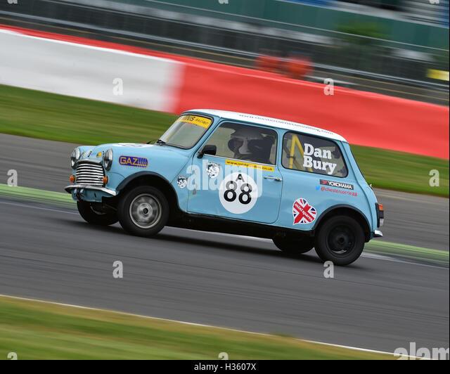 Dan Bury, Mighty Mini, 1275, Mighty Mini Championship, Saturday, Silverstone, Silverstone truck festival, Saturday, - Stock Image
