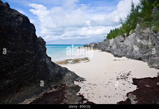 West Whale Bay Beach, Southampton, Bermuda - Stock-Bilder