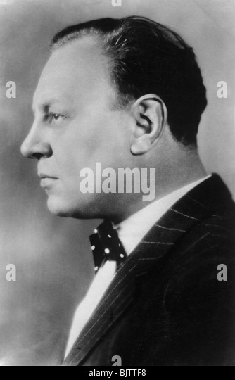 Emil Jannings (1884-1950), Swiss actor, 20th century. - Stock Image