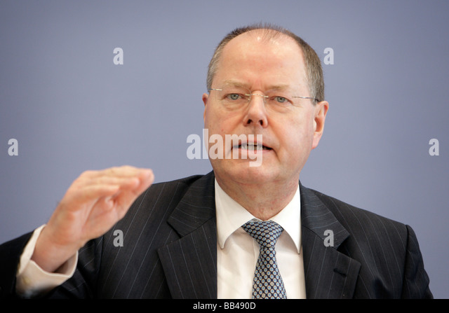 Federal Minister of Finance of Germany - Stock Image