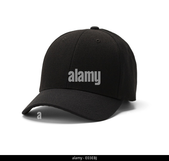 Baseball hat Isolated on a white background. - Stock Image