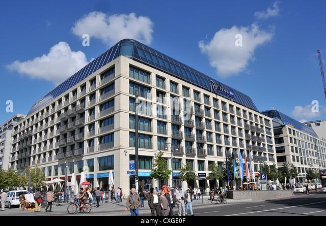 Radisson Blu Hotel Berlin Stock Photos Amp Radisson Blu