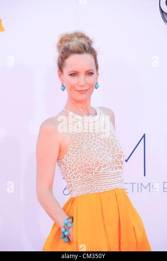 Leslie Mann arrivals64th Primetime Emmy Awards - ARRIVALS Nokia Theatre L.A LIVE Los Angeles CA September 23 2012 - Stock-Bilder