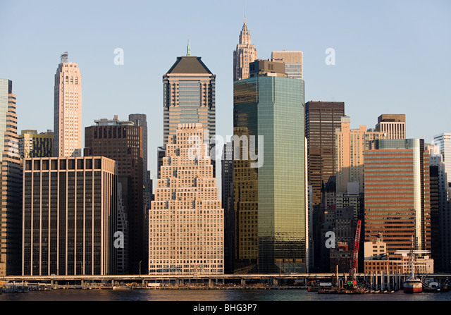 Manhattan buildings - Stock-Bilder