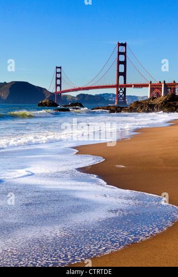 Golden Gate Bridge, San Francisco - Stock Image