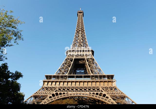Eiffel tower, Paris, France, Europe - Stock Image