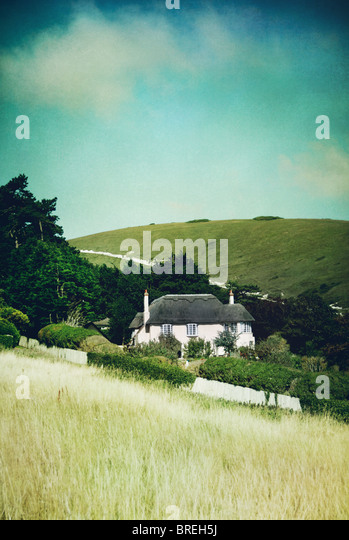 cottage in Dorset,England,UK - Stock-Bilder