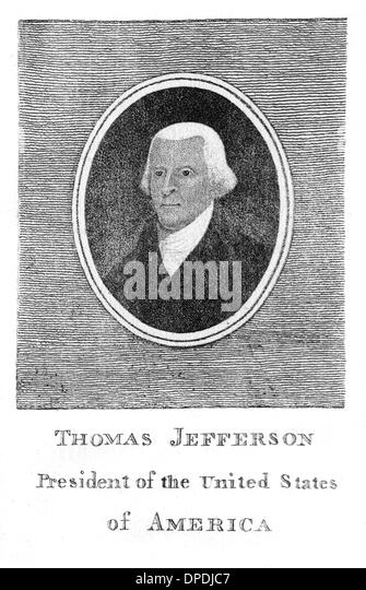 What was Thomas Jefferson's vision for the United States?