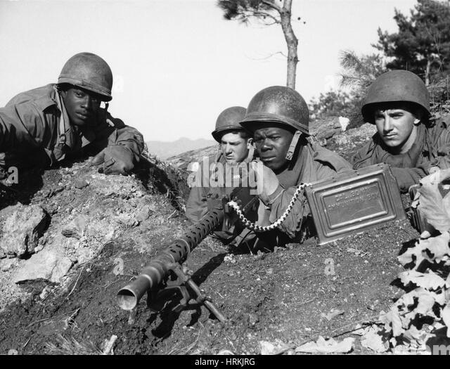 Korean War - Stock Image