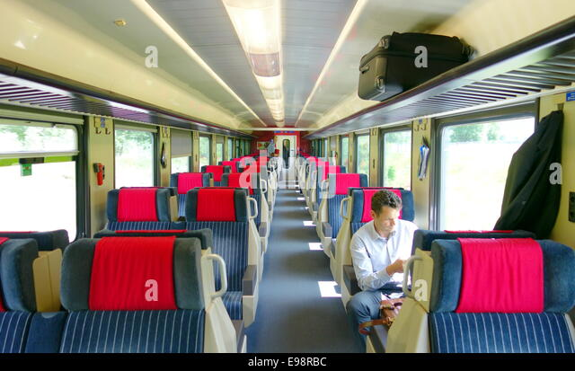 train inside empty car stock photos train inside empty car stock images alamy. Black Bedroom Furniture Sets. Home Design Ideas