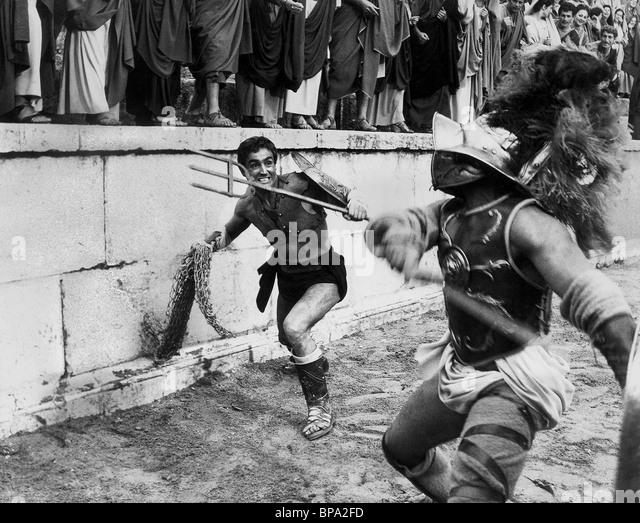 VITTORIO GASSMAN BARABBAS (1962) - Stock Image