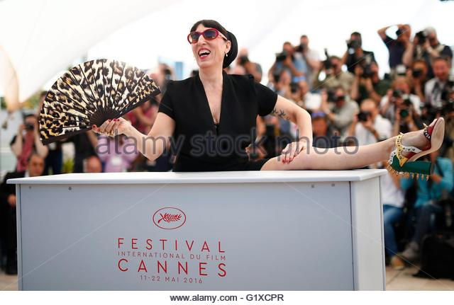 epaselect epa05311752 Spanish actress Rossy de Palma poses during the photocall for 'Julieta' at the 69th - Stock Image