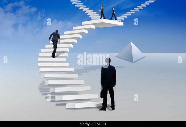 global business - Stock Image