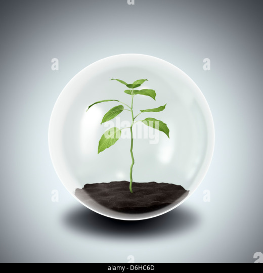 Environmental protection, artwork - Stock Image