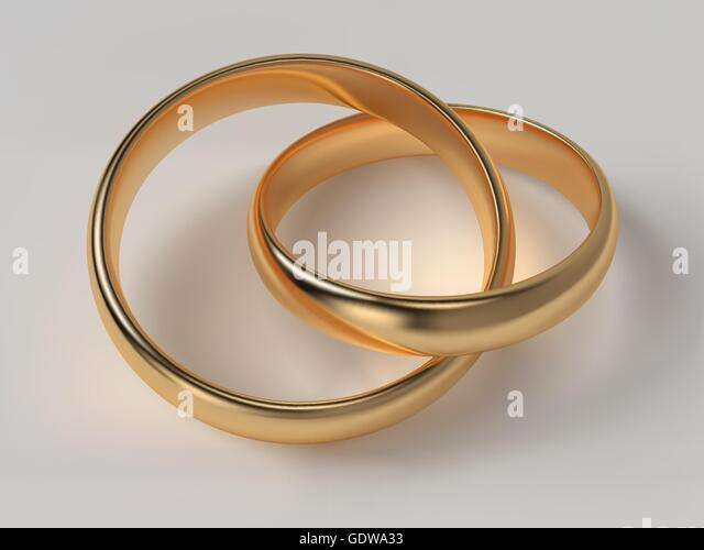 wedding rings connected stock photos wedding rings