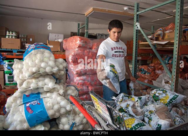 Food Bank - Stock Image