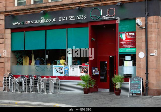 Scotland italian cafe stock photos scotland italian cafe for 16 royal terrace glasgow