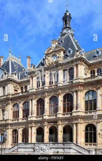 Palais du commerce stock photos palais du commerce stock for Chambre commerce lyon