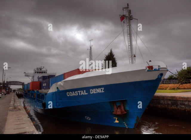 Coastal Deniz at Latchford Locks,MSCC,  Warrington, England, UK - Stock Image