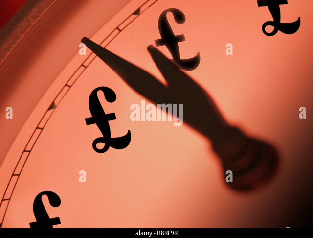Time and Money Concept - Stock Image