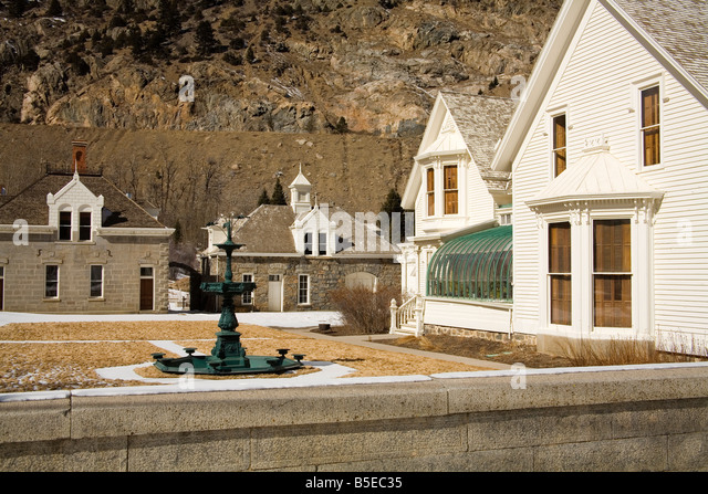 Hamill House Museum, Georgetown, Rocky Mountains, Colorado, USA, North America - Stock Image