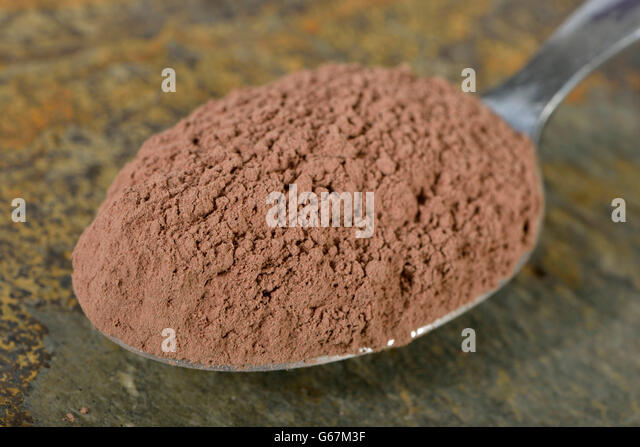 Red clay / (Bolus rubra) - Stock Image