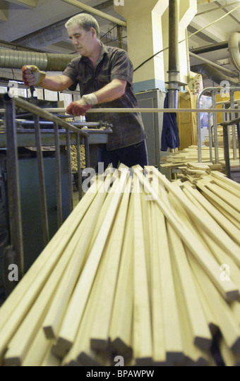 The Hockey experimental factory - Stock Image