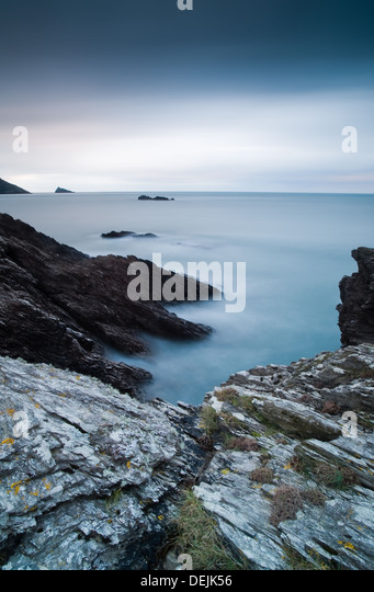 Ladies cove at Sunset - Stock Image