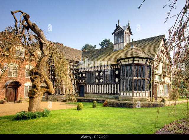 Rufford Hall - Stock Image