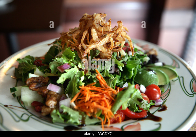 A health diet salad - Stock Image