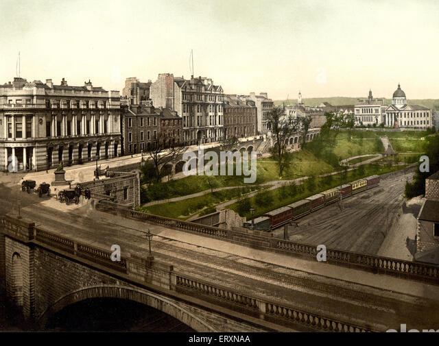 Union Terrace, Aberdeen, Scotland - Stock Image