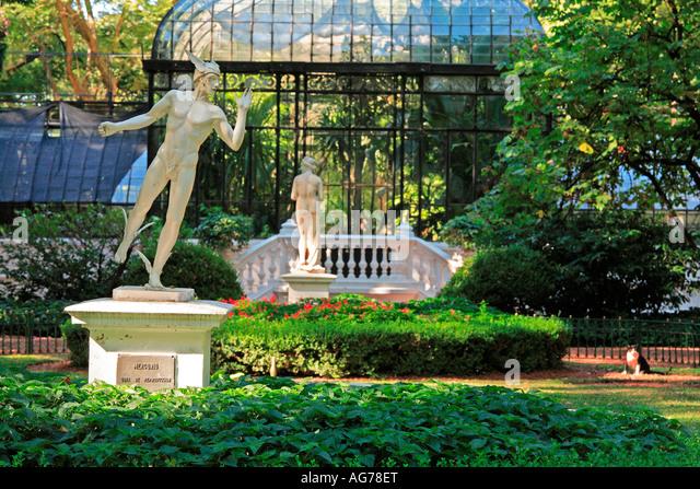 Buenos aires botanical garden stock photos buenos aires for Amapola jardin de infantes palermo