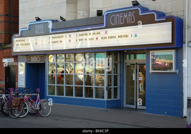 Reel Cinema, Loughborough, Leicestershire, England, Uk - Stock Image