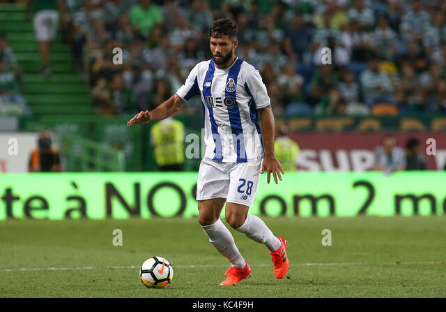 Lisbon, Portugal. 01st Oct, 2017. FC PortoÕs defender Felipe from Brazil  during Premier League 2017/18 match - Stock Image