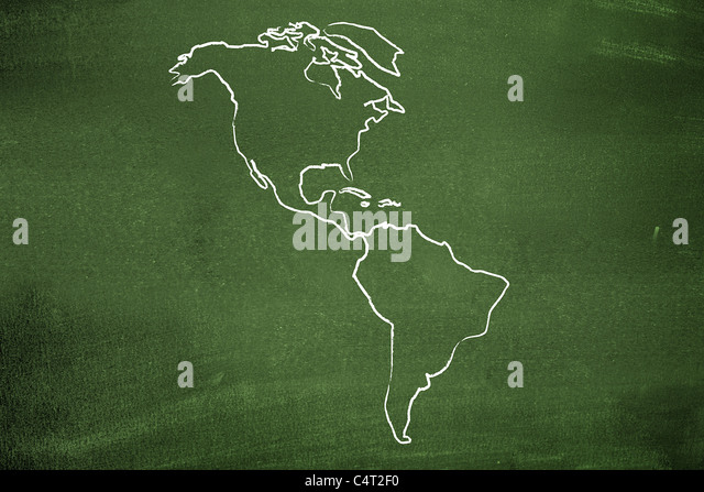 The americas - Stock Image