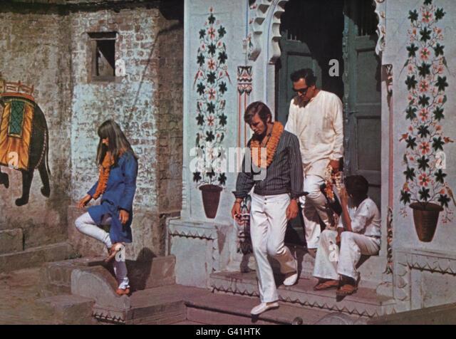 The Guru, USA/Indien 1969, Regie: James Ivory, Darsteller: Rita Tushingham, (links), Michael York - Stock-Bilder