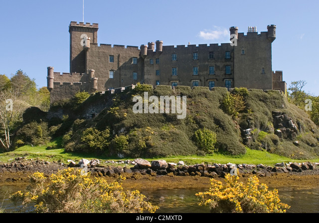 Scotland Highland Skye Dunvegan castle - Stock-Bilder