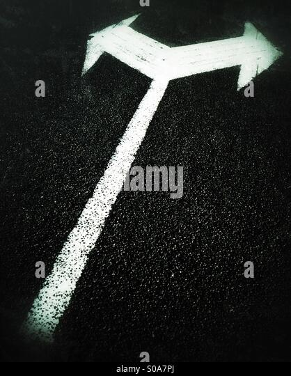 Road sign. - Stock Image