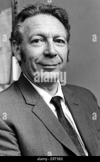 Geoffrey Goodman, Daily Mirror Industrial Correspondant. 17th August 1971. - Stock Image