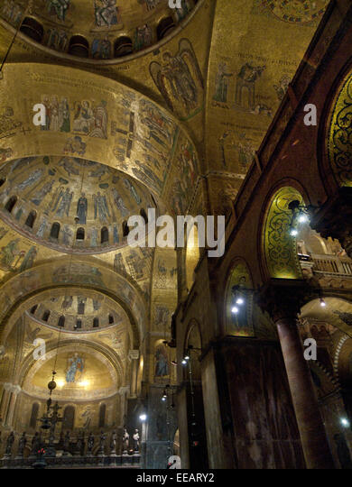 the beauty of the interior of st marks cathedral in venice italy Find basilica saint marks stock images in hd  detail of facade of saint mark's cathedral in venice, italy venice-june 15: interior of st mark's.