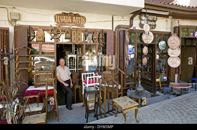 Antique shop - Stock-Bilder