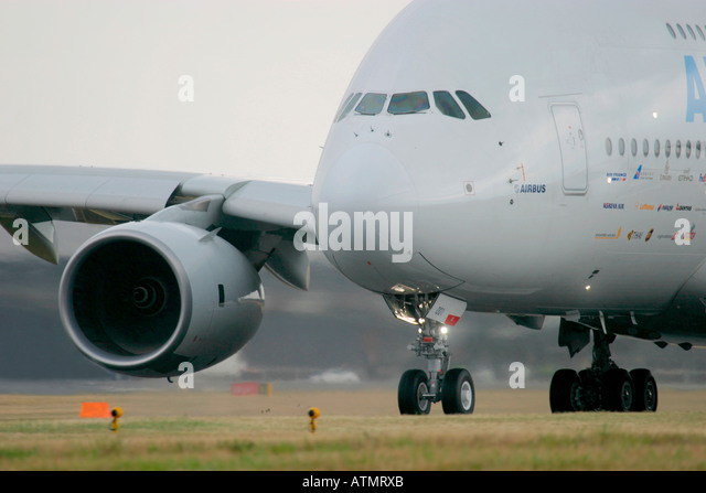 Airbus A380 - Stock Image