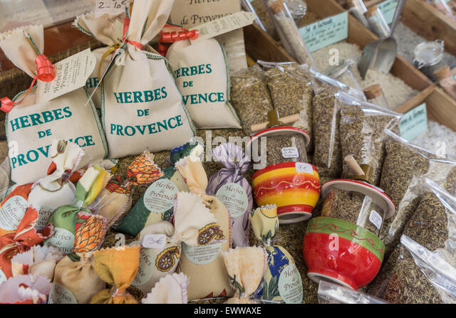 Herbes de Provence, Spices, Provence, France - Stock Image
