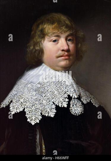 Reynier Pauw van Nieuwerkerk 1633 Jan Anthonisz van Ravesteyn 1575-1657 Dutch Netherlands - Stock Image