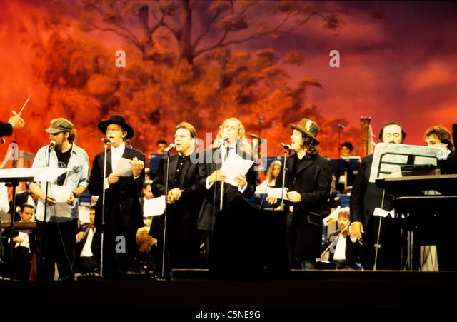 luciano pavarotti, Pavarotti & Friends, 1994 - Stock Image