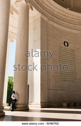Jefferson Memorial in Washington D.C. - Stock Image