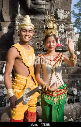 Khmer Traditional Clothes Stock Photos Amp Khmer Traditional